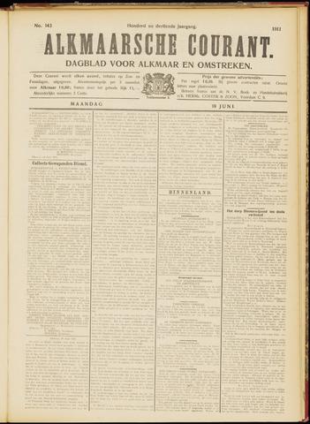 Alkmaarsche Courant 1911-06-19