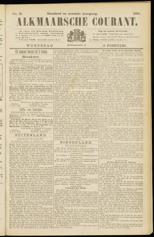Alkmaarsche Courant 1905-02-15