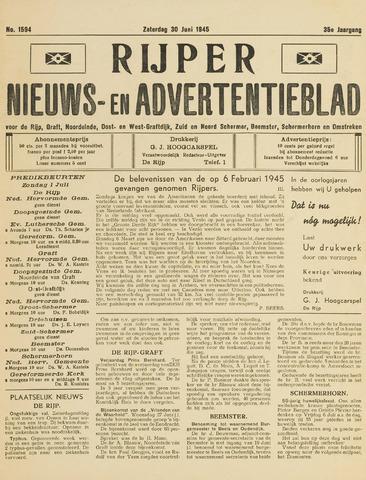 Rijper Courant 1945-06-30