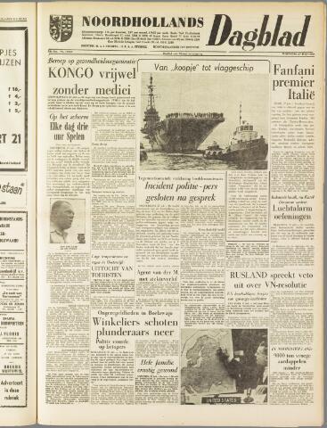 Noordhollands Dagblad : dagblad voor Alkmaar en omgeving 1960-07-27