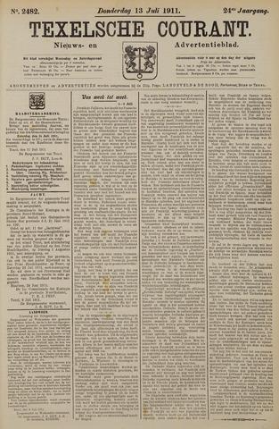 Texelsche Courant 1911-07-13