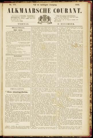 Alkmaarsche Courant 1883-12-21