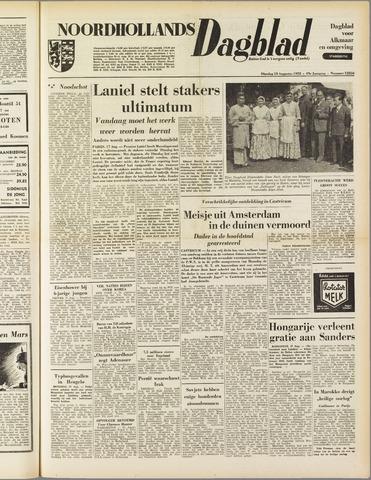 Noordhollands Dagblad : dagblad voor Alkmaar en omgeving 1953-08-18
