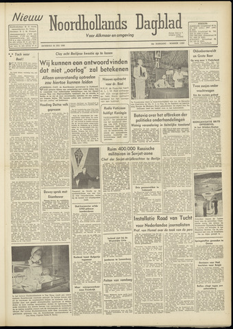 Nieuw Noordhollandsch Dagblad : voor Alkmaar en omgeving 1948-07-24