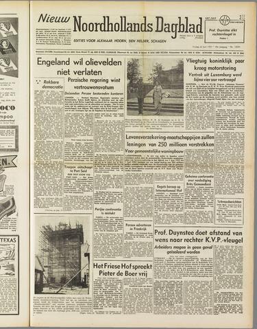 Nieuw Noordhollandsch Dagblad : voor Alkmaar en omgeving 1951-06-22