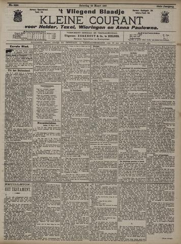 Vliegend blaadje : nieuws- en advertentiebode voor Den Helder 1907-03-30