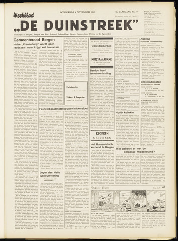 De Duinstreek 1965-11-04