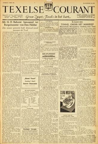 Texelsche Courant 1950-04-01