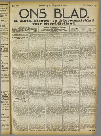 Ons Blad : katholiek nieuwsblad voor N-H 1911-08-19