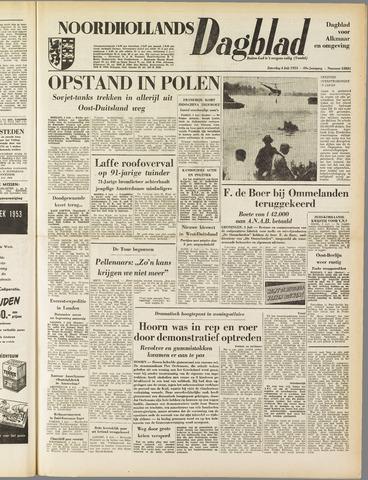 Noordhollands Dagblad : dagblad voor Alkmaar en omgeving 1953-07-04