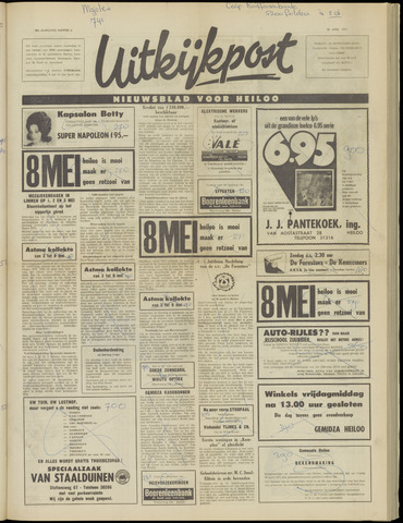 Uitkijkpost : nieuwsblad voor Heiloo e.o. 1971-04-28
