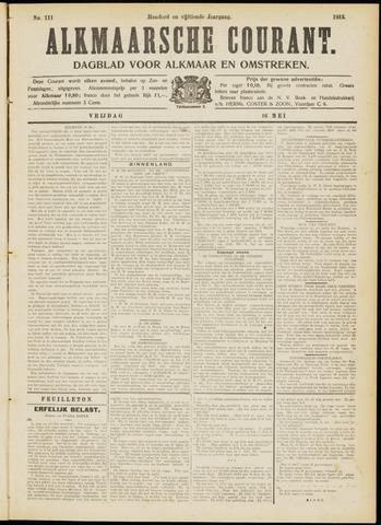 Alkmaarsche Courant 1913-05-16