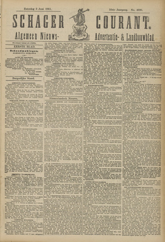 Schager Courant 1911-06-03