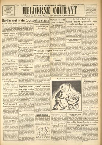 Heldersche Courant 1949-10-07