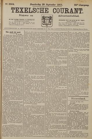 Texelsche Courant 1911-09-28