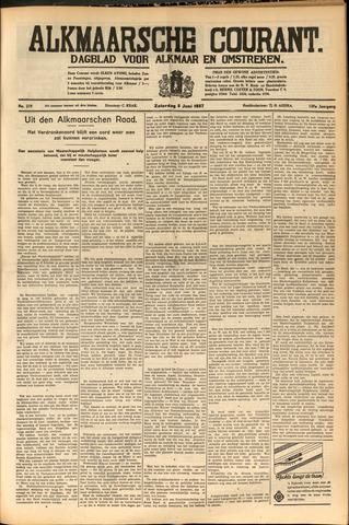 Alkmaarsche Courant 1937-06-05