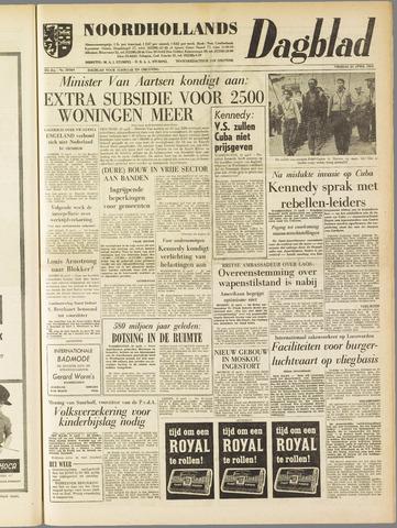 Noordhollands Dagblad : dagblad voor Alkmaar en omgeving 1961-04-21