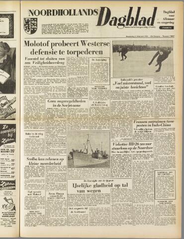 Noordhollands Dagblad : dagblad voor Alkmaar en omgeving 1954-02-11