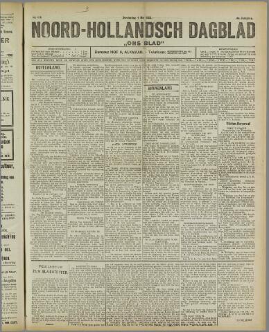 Ons Blad : katholiek nieuwsblad voor N-H 1922-05-04