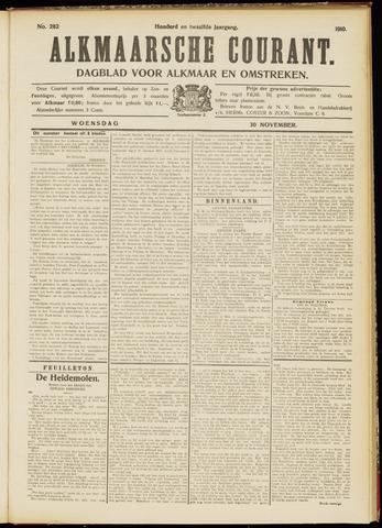 Alkmaarsche Courant 1910-11-30