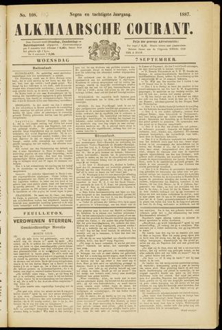 Alkmaarsche Courant 1887-09-07