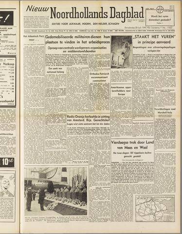 Nieuw Noordhollandsch Dagblad : voor Alkmaar en omgeving 1949-07-28