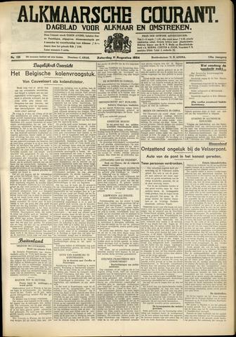 Alkmaarsche Courant 1934-08-11