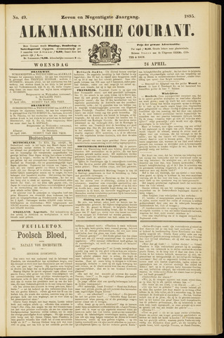 Alkmaarsche Courant 1895-04-24