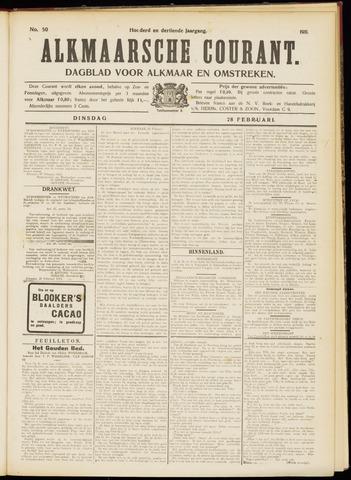 Alkmaarsche Courant 1911-02-28
