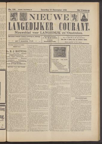 Nieuwe Langedijker Courant 1925-09-12