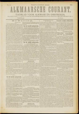 Alkmaarsche Courant 1915-07-02