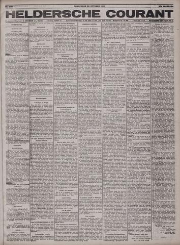 Heldersche Courant 1919-10-30