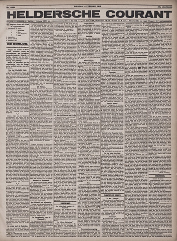 Heldersche Courant 1918-02-12