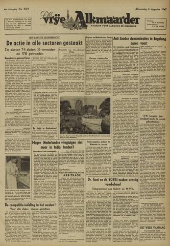 De Vrije Alkmaarder 1947-08-06
