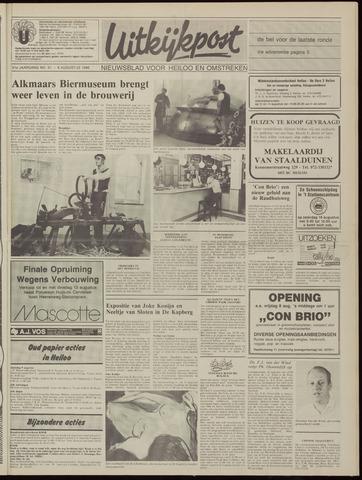 Uitkijkpost : nieuwsblad voor Heiloo e.o. 1986-08-06