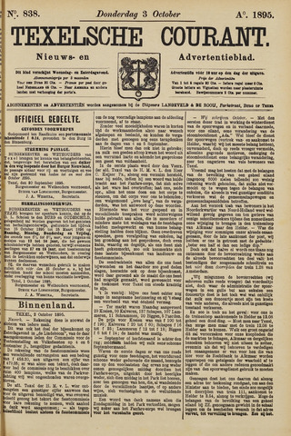 Texelsche Courant 1895-10-03