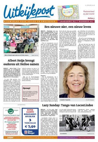 Uitkijkpost : nieuwsblad voor Heiloo e.o. 2018-01-31