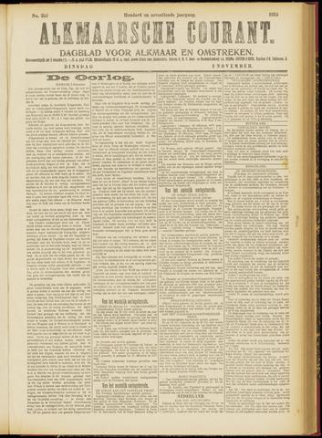 Alkmaarsche Courant 1915-11-02