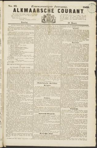 Alkmaarsche Courant 1869-03-28