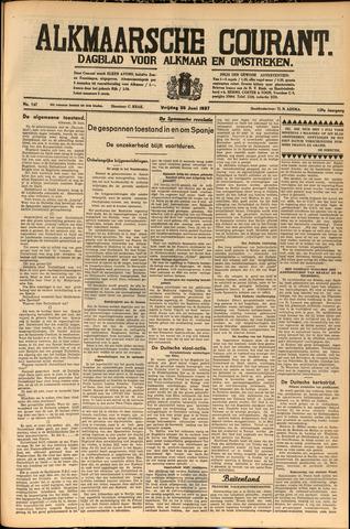 Alkmaarsche Courant 1937-06-25