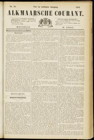 Alkmaarsche Courant 1882-04-26