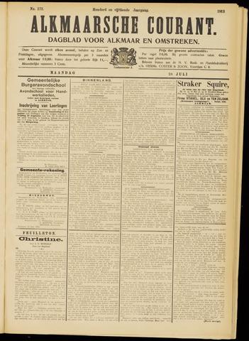 Alkmaarsche Courant 1913-07-28