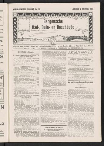 Bergensche bad-, duin- en boschbode 1933-08-05