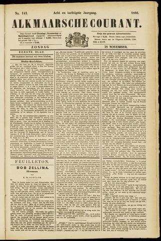 Alkmaarsche Courant 1886-11-28
