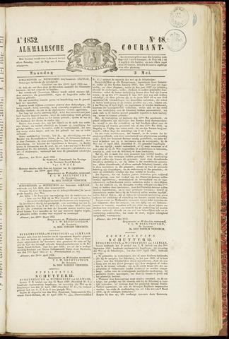 Alkmaarsche Courant 1852-05-03