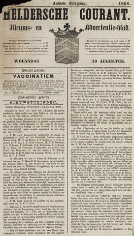 Heldersche Courant 1868-08-19
