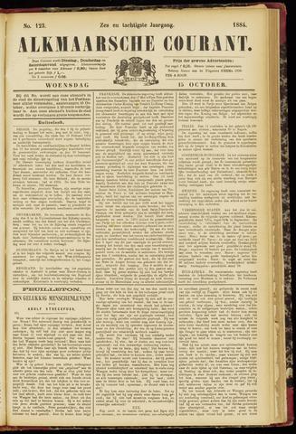 Alkmaarsche Courant 1884-10-15