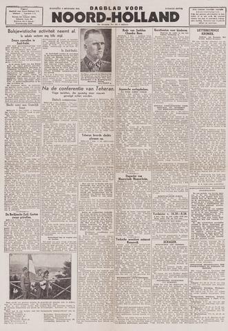 Dagblad Noord-Holland, Schager editie 1943-12-08