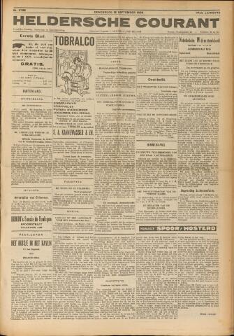 Heldersche Courant 1929-09-19