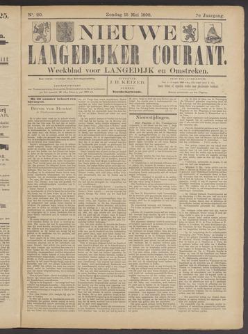 Nieuwe Langedijker Courant 1898-05-15
